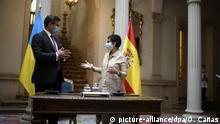 Außenminister der Ukraine Dmitri Kuleba in Spanien