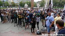 Ukraine Ivano-Frankivsk | Coronakrise | Proteste