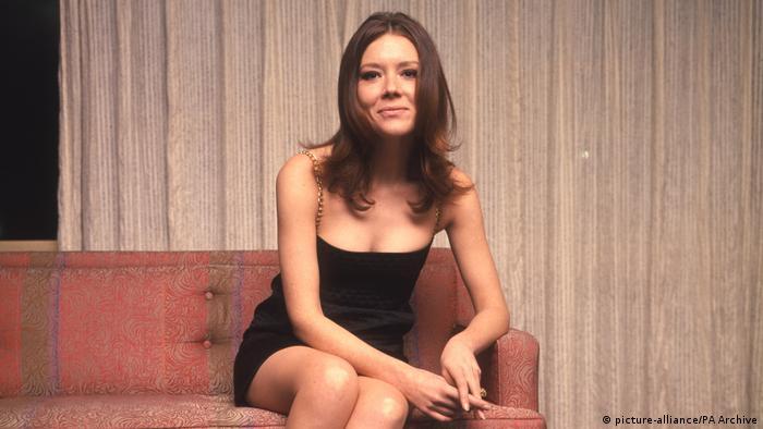 British actress Diana Rigg
