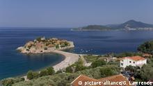 Stadt und Landschaft in Montenegro