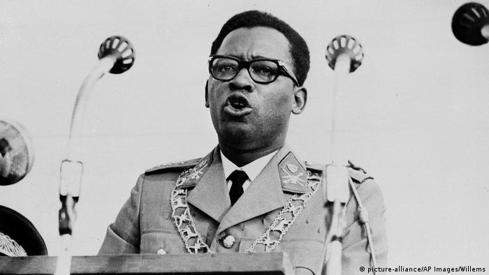 Mobutu Sese Seko ruled the Congo until his death in 1997