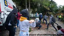 Proteste gegen Polizeigewalt in Kolumbien