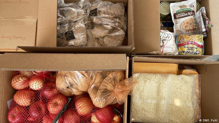 Hollywood'da gıda yardımlarıyla yaşayan pek çok aile var