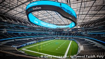 Стадион в калифорнийском городе Инглвуд