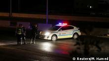 Jordanien Explosion in der Stadt Zarqa | Polizeikontrollpunkt