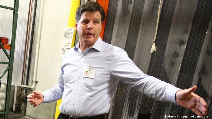 Michael Flood, CEO der Los Angeles Regional Food Bank (Getty Images/I. Akpanudosen)