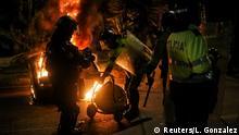Kolumbien Protest gegen Polizeigewalt