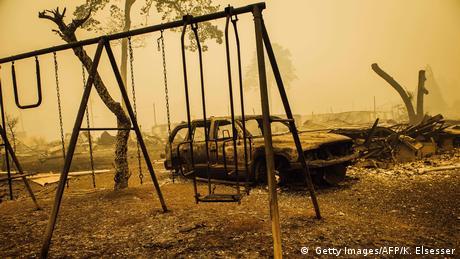 USA Waldbrände Feuer ( Getty Images/AFP/K. Elsesser)