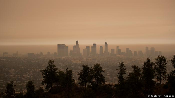 USA Waldbrände Feuer