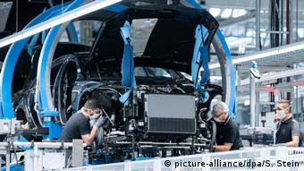 На заводе концерна Daimler в немецком Зиндельфингене