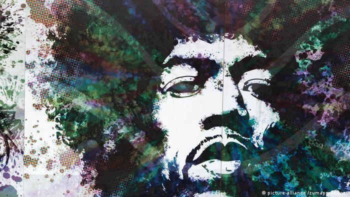 Brasilien, 50 Jahre Todestag Jimi Hendrix (picture-alliance /zumapress.com)