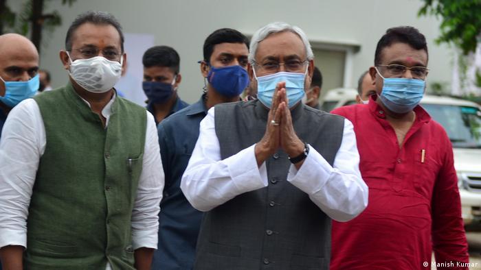 Indien | Wahlen | Virtual Campaign | Nitish Kumar