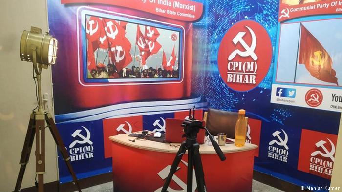 Indien | Wahlen | Virtual Campaign | CPI (Manish Kumar)