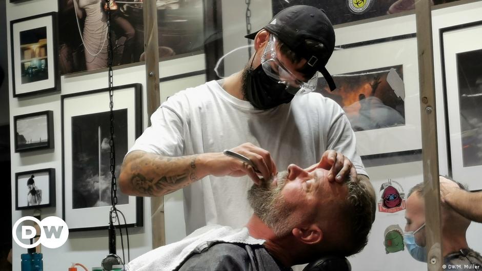 Barber, die Männerfriseure von heute