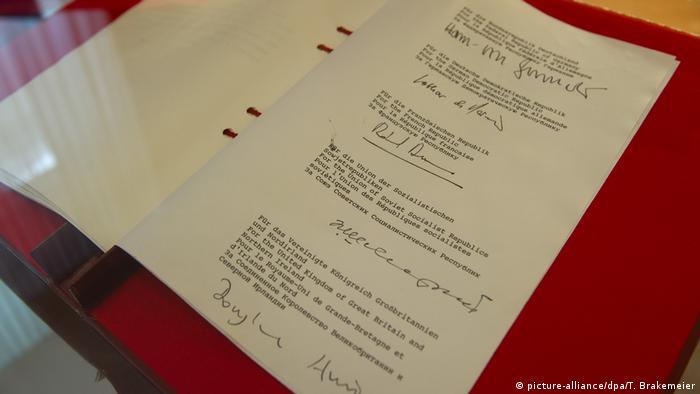 Договор 2+4 - исторический документ