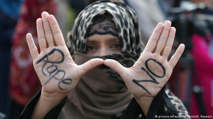 Pakistan Islamabad | Protest gegen Vergewaltigung