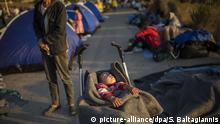 Griechenland   Nach Brand in Flüchtlingslager Moria auf Lesbos