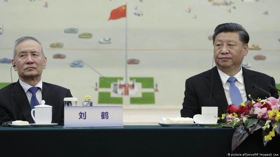 劉鶴被視為習近平派系的重要成員