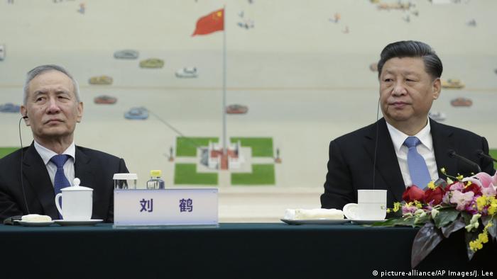China Liu He und Xi Jinping
