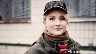Українська волонтерка Марія Назарова