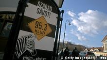 Ungarn Budapest 2012 | Klubradio - Werbung