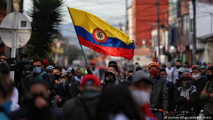 Protests spread across Colombia