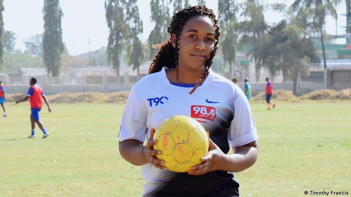 Tansania Mhindi Joseph Teilnehmerin am Programm The Sorry state of East African Football