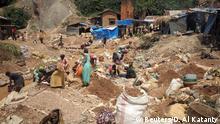 Kongo Goldmine bei Kamituga