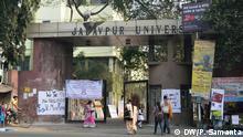 Indien Eingang zur Jadavpur Universität in Kalkutta