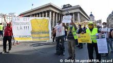 Frankreich Paris Protest der Gelbwesten