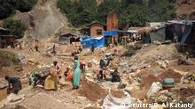 Demokratische Republik Kongo | Goldmine in Kamituga