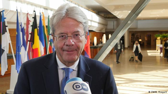Brüssel   EU-Finanzministertreffen   Paolo Gentiloni