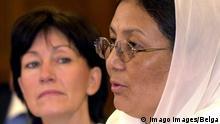 Brüssel Dr Habiba Sorabi Afghanische Frauenbeauftragte spricht in Brüssel