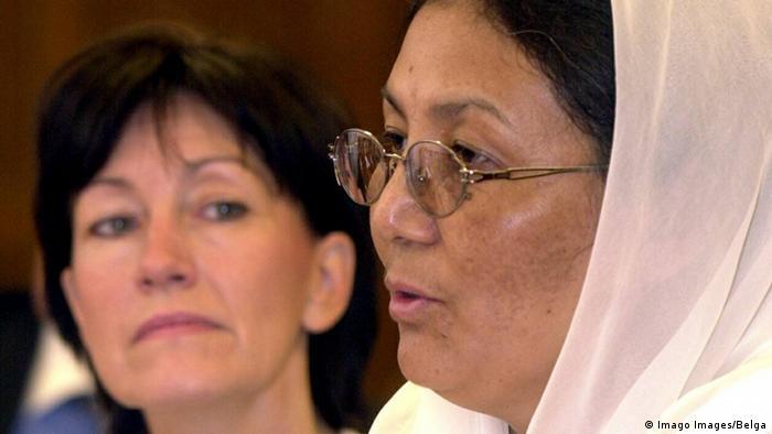 Brüssel Dr Habiba Sorabi Afghanische Frauenbeauftragte spricht in Brüssel (Imago Images/Belga)
