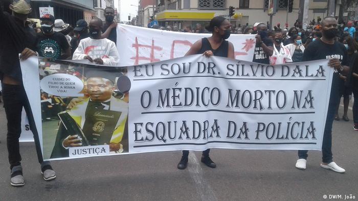 Angola Luanda |Protest gegen Polizeigewalt