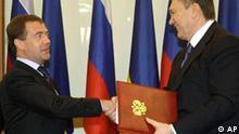 Ukraine verlängert Präsenz der russischen Marine auf der Krim um 25 Jahre