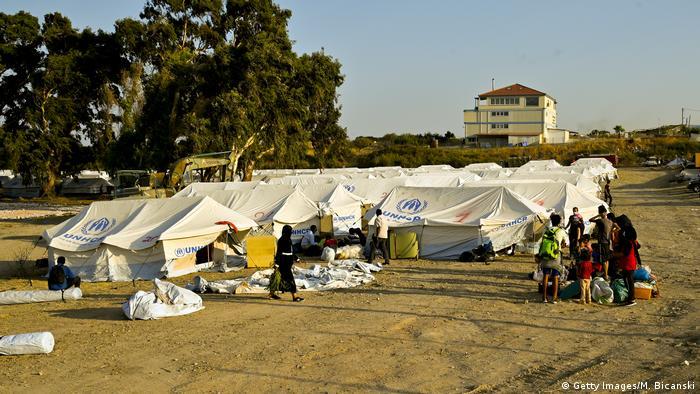Griechenland, Lesbos I Moria I Kara Tepe (Getty Images/M. Bicanski)