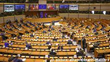 Symbolbild I Europäisches Parlament I Coronavirus