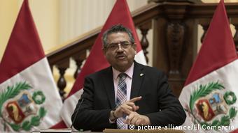 Manuel Merino (picture-alliance/El Comercio)
