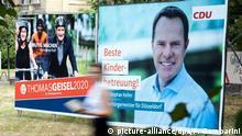 Deutschland Kommunalwahl in NRW | Wahlplakate in Düsseldorf