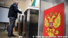 Russland Nowosibirsk Regionalwahlen
