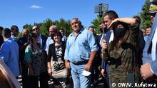 Bulgarien Kardzhali Besuch Präsident Bojko Borissow