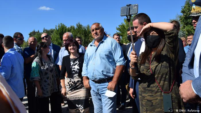 Bulgarien Kardzhali Besuch Präsident Bojko Borissow (DW/V. Rufatova)