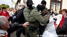 Belarus Frauenprotest in Minsk