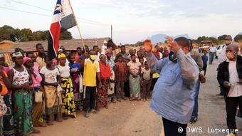 Mosambik Nampula   RENAMO Vorsitzender   Ossufo Momade (DW/S. Lutxeque)