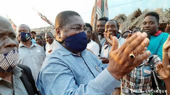 Mosambik Nampula   RENAMO Vorsitzender   Ossufo Momade