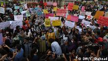 Pakistan Lahore |Protest für Gerechtigkeit nach Vergewaltigung