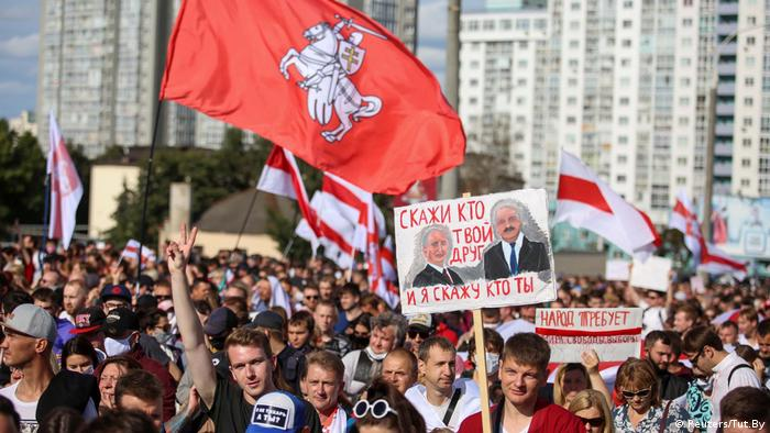 Учасники Маршу героїв - про зв'язки Путіна і Лукашенка