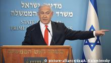 Israel I Coronavirus I Ansprache Benjamin Netanjahu