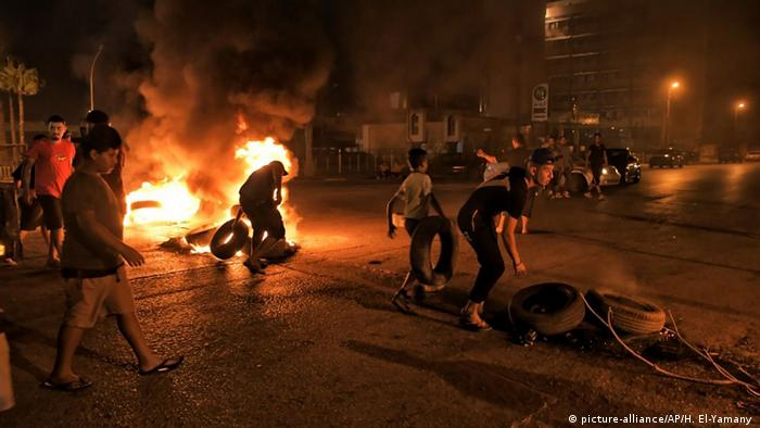 Protests erupt in Benghazi (picture-alliance/AP/H. El-Yamany )